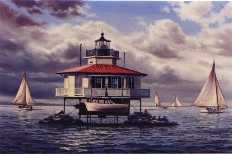 Rendering of the Choptank River Lighthouse